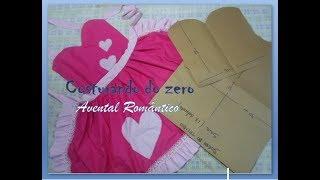 Série costurando do zero – Avental Romântico