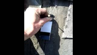 Asbestos tile repair 2