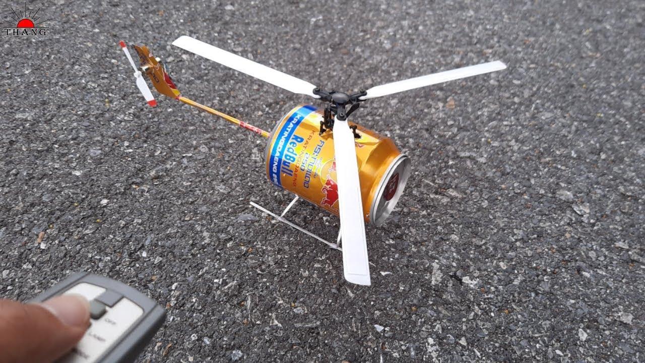 Направи си сам самоделен хеликоптер от подръчни материали в домашни условия!