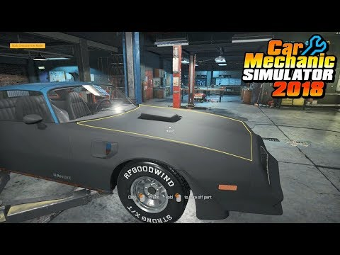 Car Mechanic Simulator 2018 (PC) ep13 restoration Chieftain Bandit from Junkyard ep.2