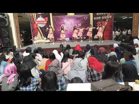 181216 6Friend GFriend Dance Cover - Navillera @ BTM Bandung Trade Mall