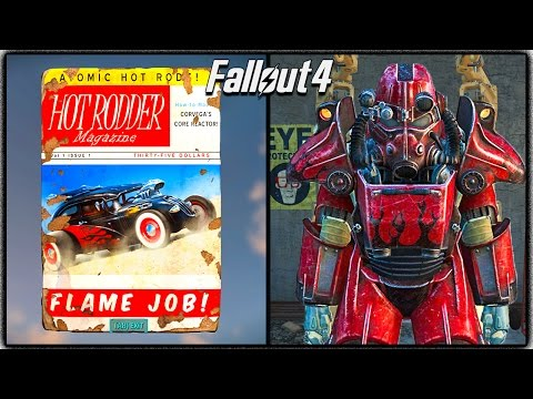 fallout 4 hot rod flames power armor paint 3 easy locations for free power armor. Black Bedroom Furniture Sets. Home Design Ideas
