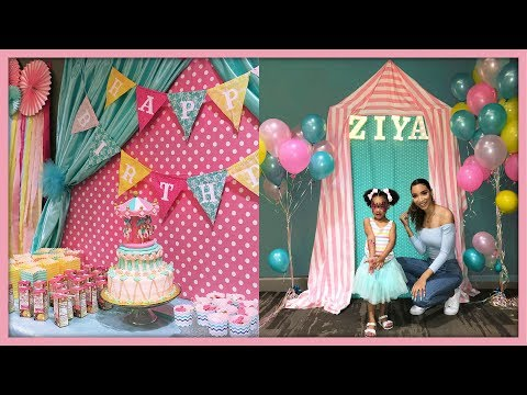 DIY Carnival Birthday Decor (Planning Ziya's Party!)