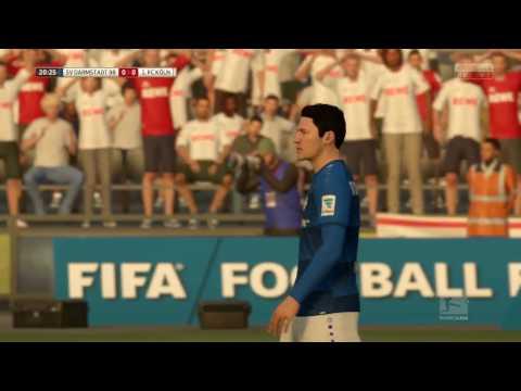 FIFA 17 PS4   Darmstadt vs FC Koln   Full Match Gameplay   Bundesliga