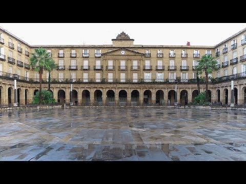 Places to see in ( Bilbao - Spain ) Plaza Nueva