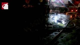 في حريق الفجالة.. الناجون من النار لم يسلموا من الماء -(فيديو وصور)