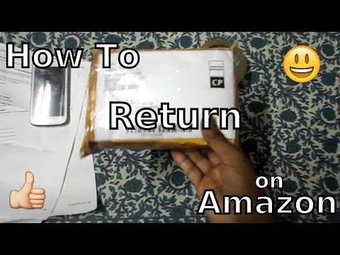 How To Return A Product On Amazon | TechWay HowTos