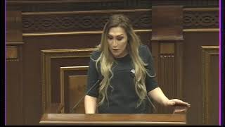 Lilit Martirosyan, first trans woman to speak from Armenian Parliament [english captions]