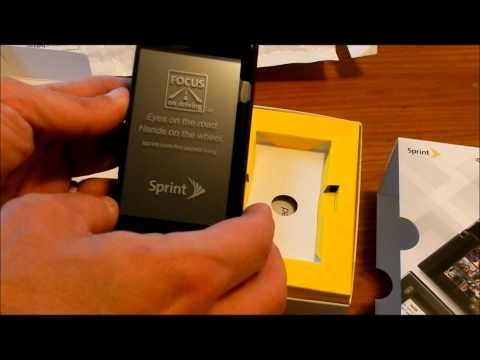 Sprint Kyocera Echo Unboxing