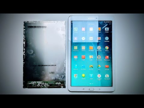 Ремонт модуля Samsung Galaxy Tab E SM-T561 Полная разборка, разделение модуля и замена матрицы