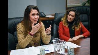 The editorial board met with u.s. congresswoman jaime herrera who represents sw washington's 3rd district, january 24, 2018.