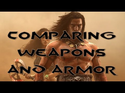 Conan Exiles - 11 Comparing Weapons and Armor |