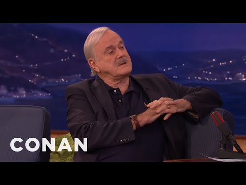 John Cleese Offered To Kill His Mom To Cheer Her Up  - CONAN on TBS