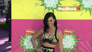 Katy Perry arrives at Nickelodeon Kids