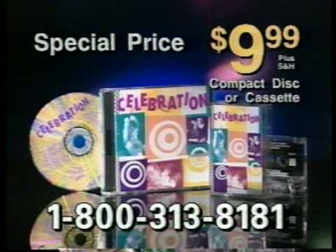 Celebration / Sounds of the 70's TV Commercial
