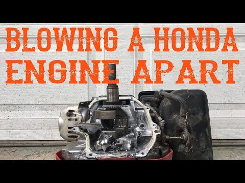 What Happens to a Honda Engine if the Governor is Adjusted Wrong or Not Working Video