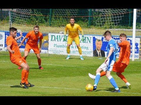 Stranraer 0-1 Glenavon - Friendly, 23 June 2018