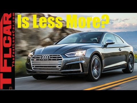 2018 Audi S5 Review: Is Less More?
