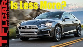 2018 audi s5 review is less more