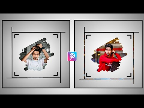Picsart Photo Editing |Simply Frame Portrait Photo Editing | Picsart Editing New Style | Dp Editing