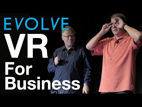 Evolve 2017: If VR is the New Reality for Business, What are we going to do with all that Data?