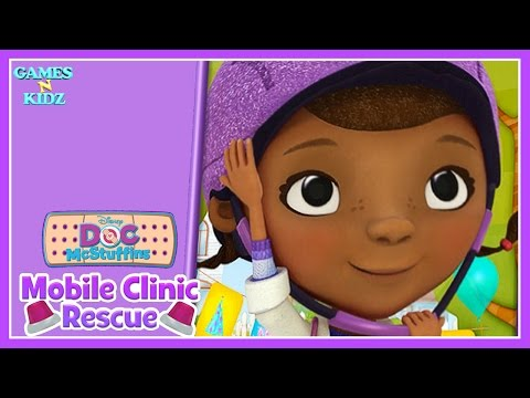 Doc McStuffins: - Mobile Clinic Rescue - Toy Emergency Check Up - Disney Junior App For Kids