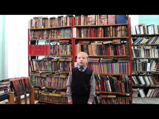 Изображение предпросмотра прочтения – ДаниилПолянцев читает произведение «Школьник» Н.А.Некрасова