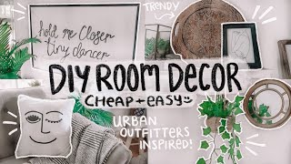 DIY ROOM DECOR! cheap, easy, & Urban Outfitters inspired!