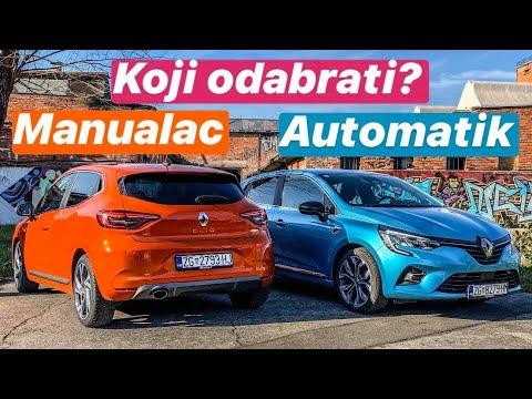 Ručni Vs Automatski Mjenjač! - Novi Renault Clio