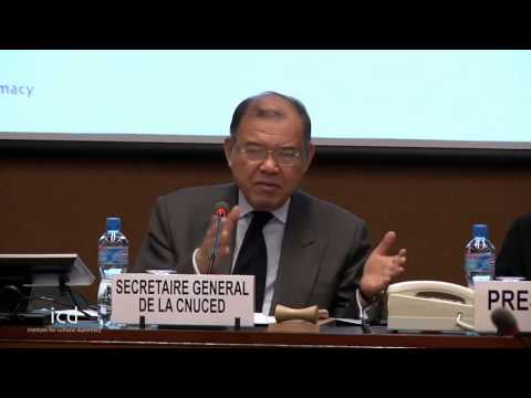 Supachai Panitchpakdi, SecretaryGeneral UN Conference Trade & Development