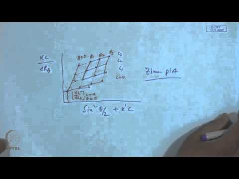 Mod-01 Lec-32 Determination of Molecular Weight of Polymers (Contd.)