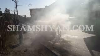 Քաղաքացիները կանխել են Mercedes ում առաջացած հրդեհի տարածումն, իսկ հետո մարել այն