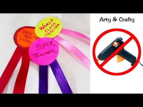 5 Minutes Idea - Badge for teachers /Perfect Teachers Day Gift Idea/Badge for Teachers/Badge Making