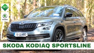 Skoda Kodiaq Sportsline 2018 Review with Michael O Donovan (theVIDEOguys)