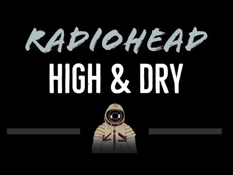 Radiohead   High & Dry CC Karaoke Instrumental
