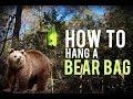 How to Hang A Bear Bag  PCT Method