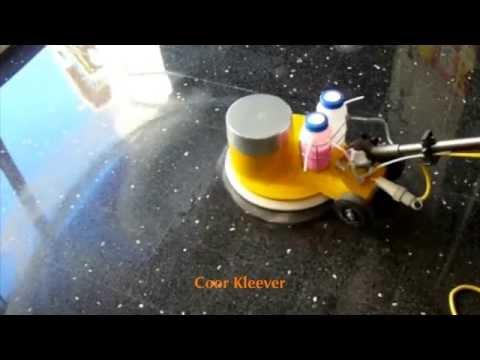Crystallization Vitrification Of Terrazzo Floor Cristalizado Vitrificado De Terrazo