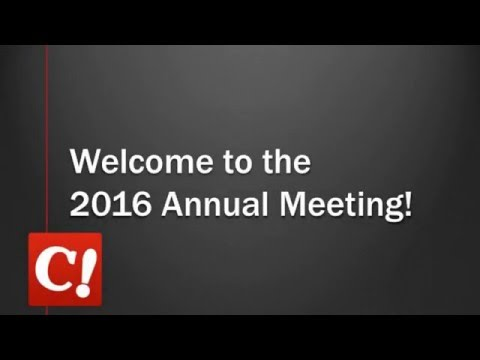 Celebration Cinema 2016 Annual Meeting Intro Video