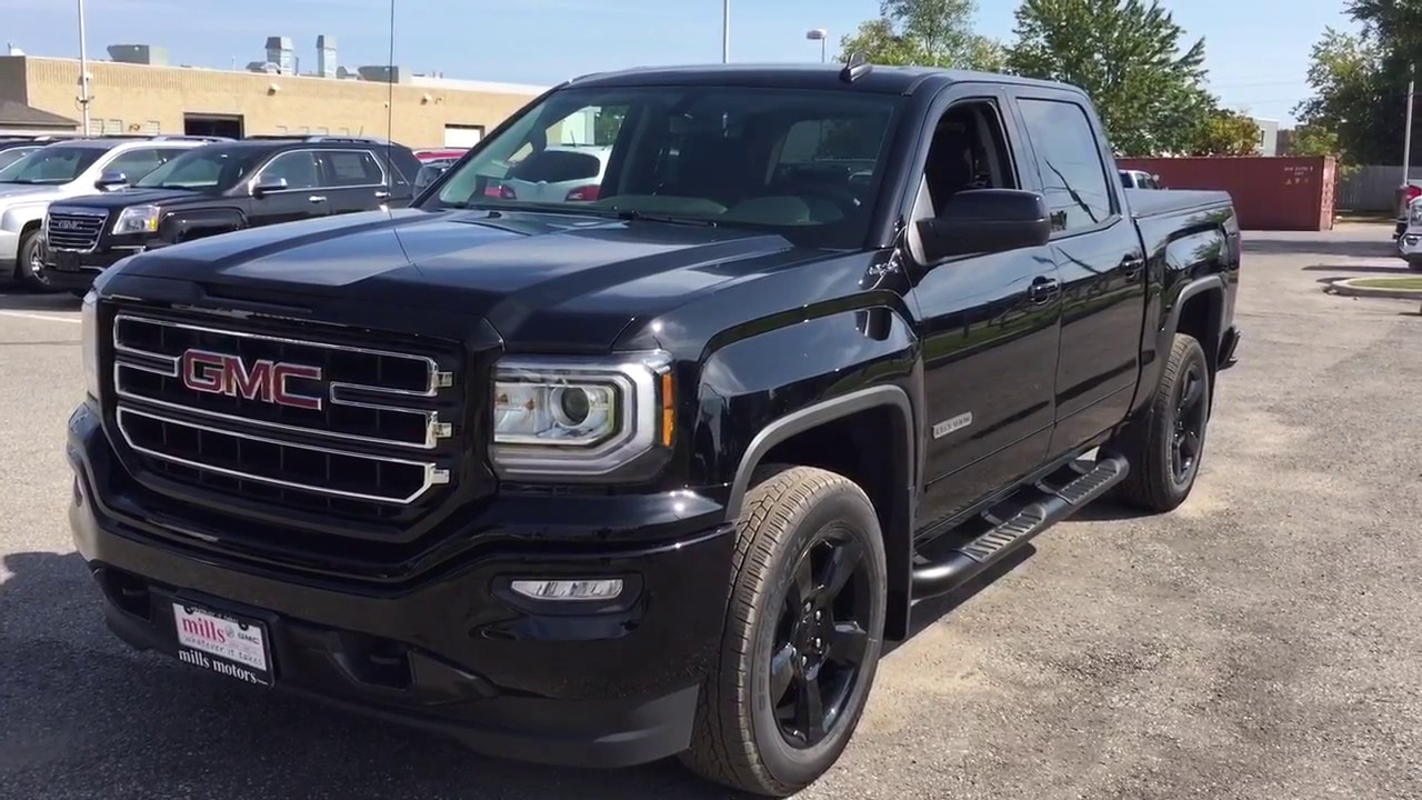 Gmc Elevation 2017 >> 2018 GMC Sierra 1500 SLE 4WD Crew Cab Elevation Power ...