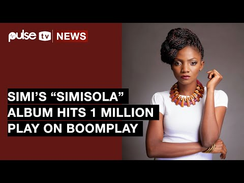 "Simi's Album ""Simisola"" Hits 1 Million Streams On Boomplay 