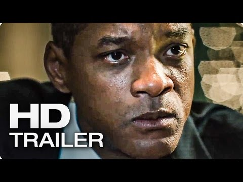 CONCUSSION Official Trailer (2016)