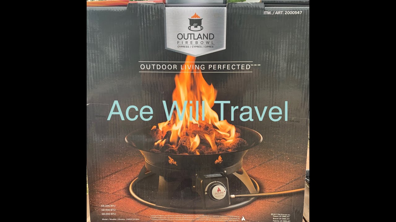 *Review* Outland FireBowl (Propane Fire Pit) Cypress Model ... on Outland Firebowl Cypress id=31982