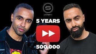 Half A Million Subscribers - My Journey