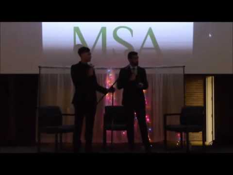 Muslim student association (MSA) Annual Dinner Nov., 2016