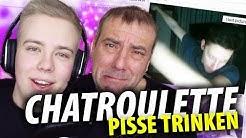LIVE PISSE GETRUNKEN!? Chatroulette mit Papa