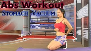 Abs Workout Stomach Vacuum for Women and Men