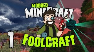 Minecraft: FOOLCRAFT | #1: BEST MODPACK EVAH! [Modded Minecraft]