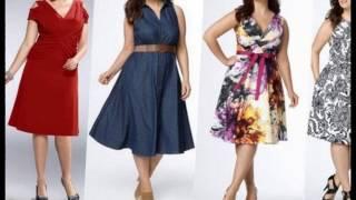Платья для полных женщин 2017 новинка мода