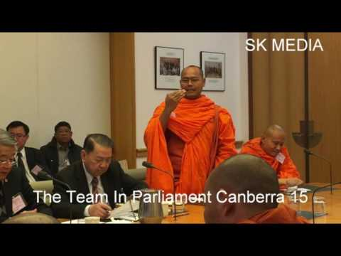 SK Media Report By Mr Korb Sao Trip To Parliament Canberra music 14