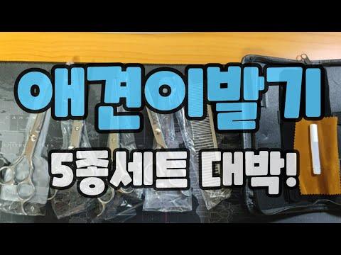 애견미용가위 5종세트 / 애견이발기 5종세트 대박!!